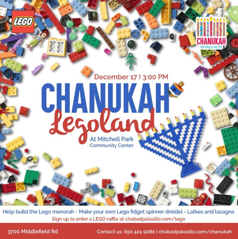 Chanukah Legoland 4:00PM