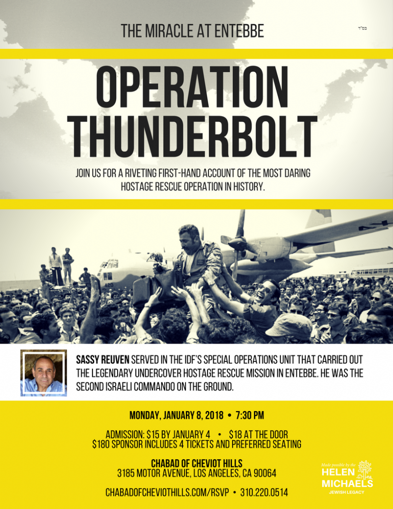 Operation Thunderbolt: The Miracle at Entebbe