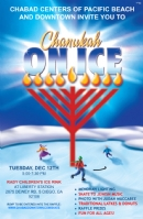 Chanukah on Ice at Liberty Station