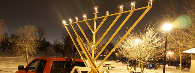 December 2017: Chanukah Light Around the World, From the U.S. to Uganda