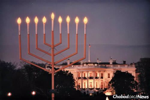 Thousands will gather in Washington, D.C., for the annual National Menorah lighting.