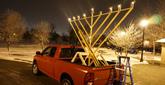 Chanukah Light Around the World, From the U.S. to Uganda