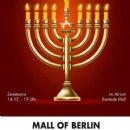 Chanukka in The Mall of Berlin - 14.12 um 19 Uhr