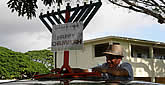Car Menorahs Take to the Streets of Middle America