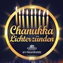 Chanukka am Alexanderplatz - 16.12 um 19:30 Uhr