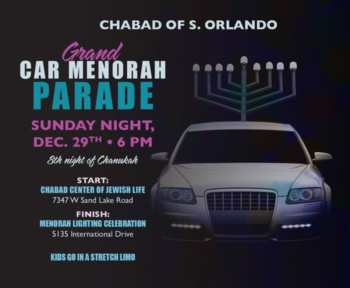 Join The Parade Chabad Of South
