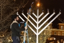 Fairport Menorah Lighting