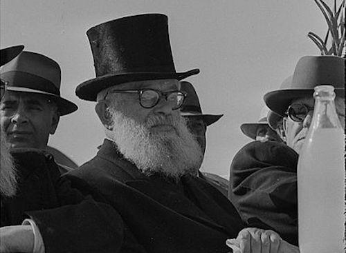 Rabbi Y.I. Herzog (Mihael Almagor/Wiki)