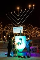 Chanukah Menorah Lighting City Hall 2017