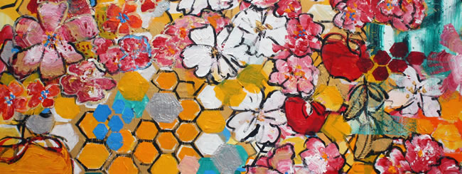 Jewish Art for the Soul: Honeycomb & Apples