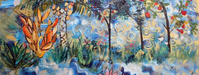 Jewish Art for the Soul: Phoenix in the Garden of Eden