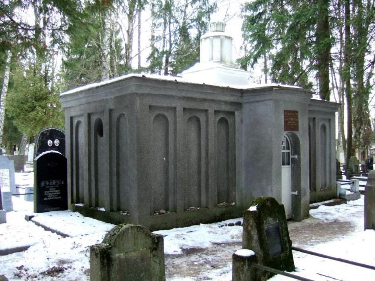 The Vilna cemetery