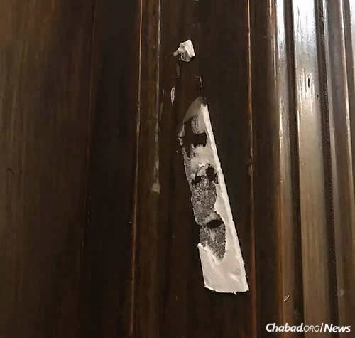 A mezuzah stolen in a second similar act of vandalism at UCLA has prompted a spate of activism, led by senior Arielle Yael Mokhtarzadeh.