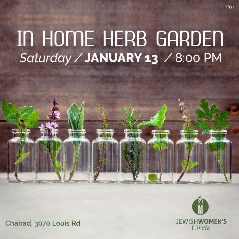 In Home Herb Garden Sat Jan 13 8PM