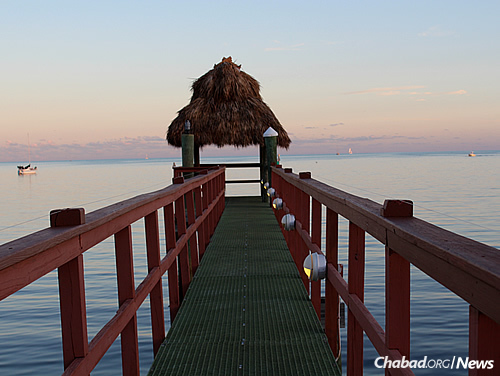 Key Largo is the serene backdrop for a week of sun, sports and study.