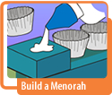 Build a Menorah Hanukkah Activity
