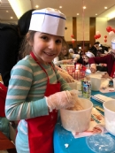 Kids Mega Challah Bake 2018 #3 Faces of Happy Bakers