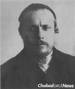 """Reb Elchonon Dov """"Chonye"""" Morosov"""