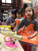 Menorah Workshop at Home Depot 2017