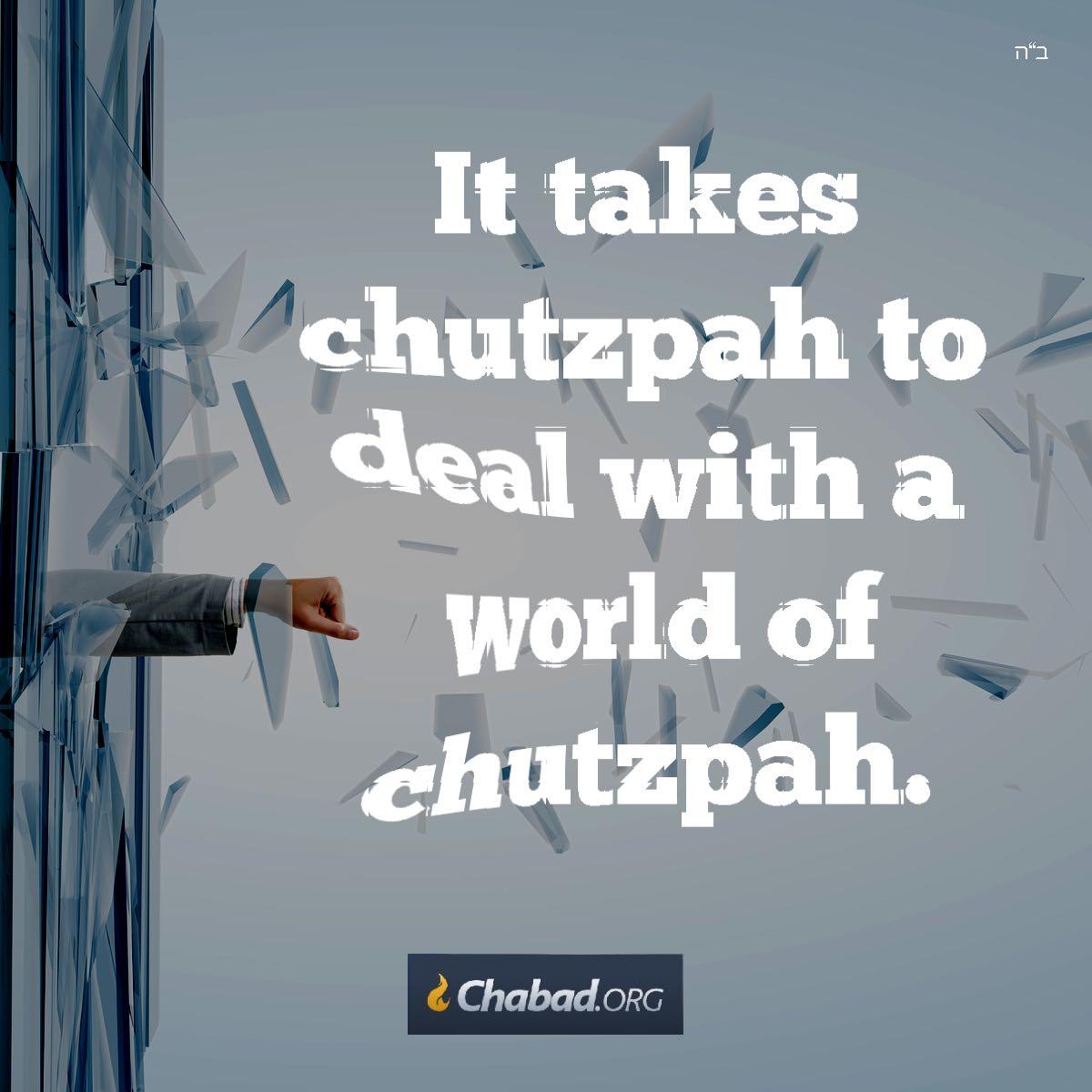 Chutzpah Daily Dose Of Wisdom
