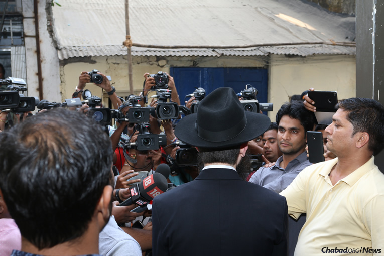 (Photo: Chabad of Mumbai/Chabad.org)