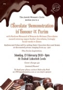 JWC Chocolate Demonstration