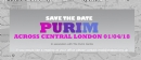 Purim Across Central London