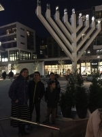 Chanukah around town