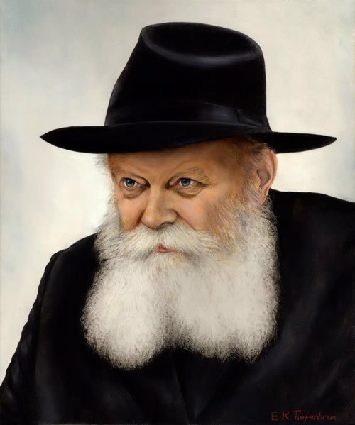 """""""The Rebbe"""" by E.K. Tiefenbrun"""