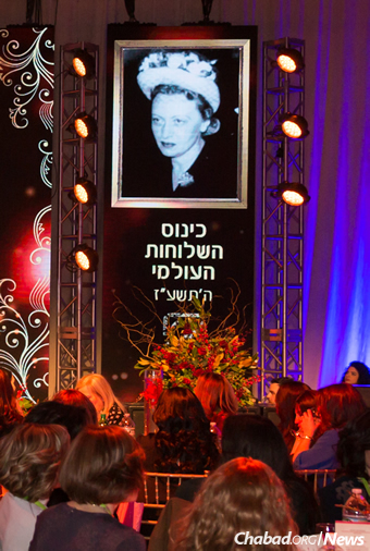 Speakers will emphasize how the Rebbetzin remains an ongoing role model for the shluchos and Jewish women everywhere. (File Photo: Chavi Konikov/Kinus.com)