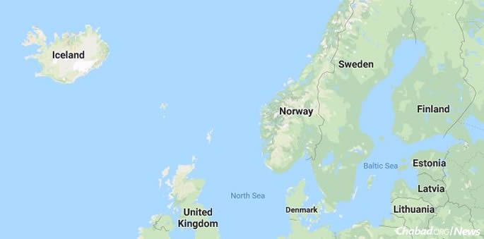 Situated just below the Arctic circle, sunrise and sunset in Iceland vary in the extremes. (Google.maps)