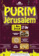 1.3.18 - Purim Jerusalem