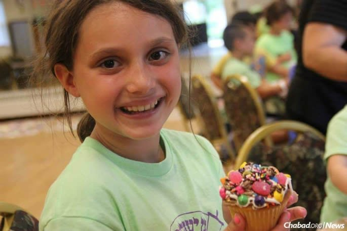 Many at the CTeen event remembered Alyssa as a 9-year-old at the local Gan Israel summer day camp.