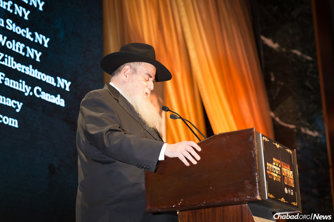 Rabbi Moshe Kotlarsky (Photo: Chavi Konikov)