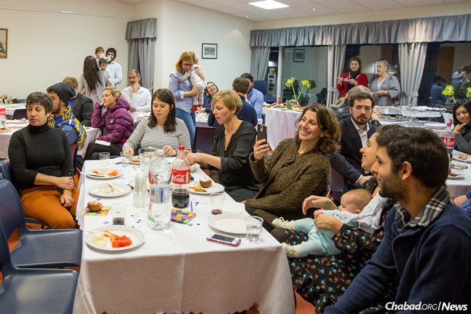 While there are around 100 Jews who have participated in community functions in one way or another, the year-round Jewish population, including university students and staff, is likely closer to 250.