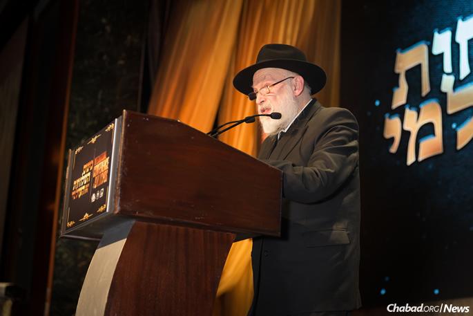 Rabbi Yehuda Krinsky (File Photo: Chavi Konikov)