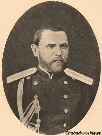 Cantonist soldier Herzl Tsam was kidnapped as a child and became an officer in the Imperial Military.