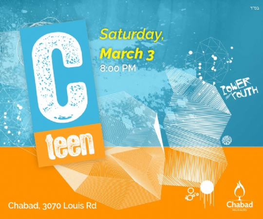 C-teen Sat, Mar 3 8:00 PM