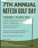 8th Annual Nefesh Golf Day