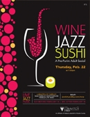 Yardley | Sushi Jazz & Wine