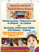 Fun Day at Aleph Bet Hebrew School