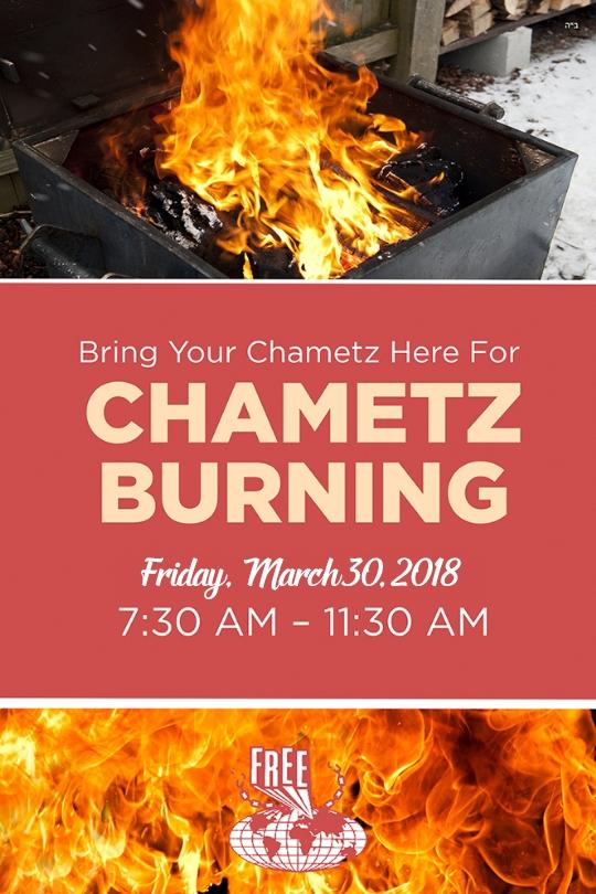 Burn your Chometz