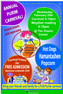Annual Purim Carnival