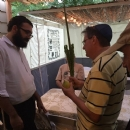 Falafel in the Sukkah