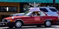 Chanuka Car Menorah Parade 2017