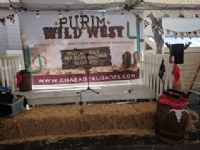 2018 Purim in the Wild West
