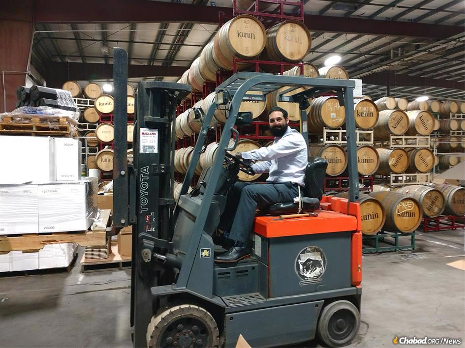 The closest that Rabbi Chaim Leib Hilel came to viniculture as a child was watching his grandfather's annual efforts to eke out a few bottles in his Montreal basement before Passover.