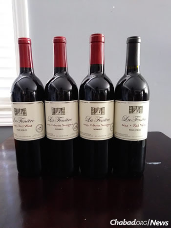 People have been eager to try the new kosher wine and lend support to Chabad of San Luis Obispo.