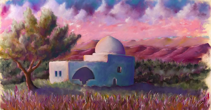 (Rachel's Tomb - by Moshe Braun)