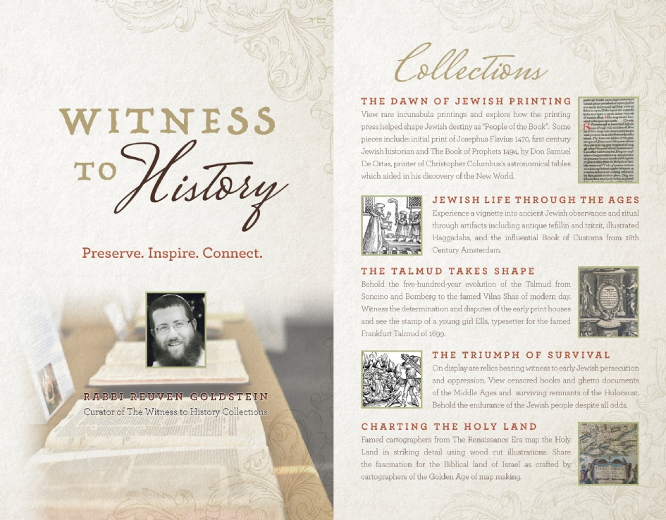 ef6a9f6d1 Witness to History Exhibit - Chabad of Contra Costa